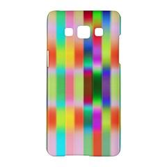 Multicolored Irritation Stripes Samsung Galaxy A5 Hardshell Case  by designworld65