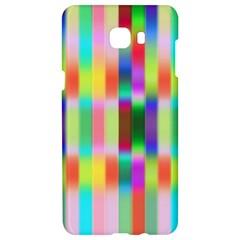Multicolored Irritation Stripes Samsung C9 Pro Hardshell Case  by designworld65