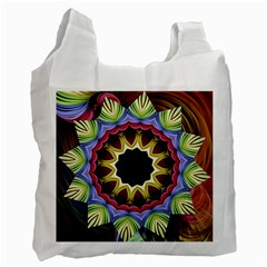 Love Energy Mandala Recycle Bag (one Side) by designworld65