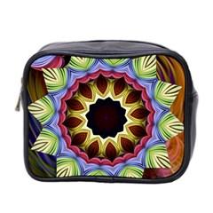 Love Energy Mandala Mini Toiletries Bag 2 Side by designworld65