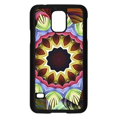 Love Energy Mandala Samsung Galaxy S5 Case (black) by designworld65