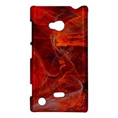 Swirly Love In Deep Red Nokia Lumia 720 by designworld65
