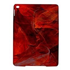 Swirly Love In Deep Red Ipad Air 2 Hardshell Cases by designworld65