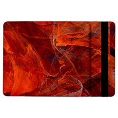 Swirly Love In Deep Red Ipad Air 2 Flip by designworld65