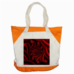 Metallic Red Rose Accent Tote Bag by designworld65