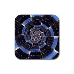 Midnight Crazy Dart Rubber Square Coaster (4 Pack)  by designworld65