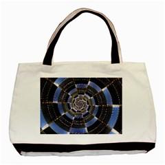 Midnight Crazy Dart Basic Tote Bag by designworld65