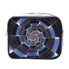 Midnight Crazy Dart Mini Toiletries Bags by designworld65