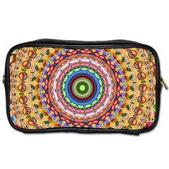 Peaceful Mandala Toiletries Bags 2 Side by designworld65