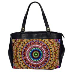 Peaceful Mandala Office Handbags by designworld65