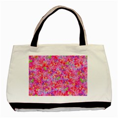 The Big Pink Party Basic Tote Bag by designworld65