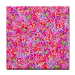 The Big Pink Party Face Towel by designworld65