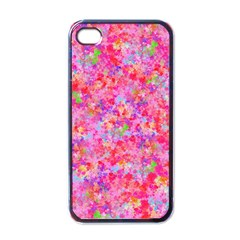 The Big Pink Party Apple Iphone 4 Case (black) by designworld65