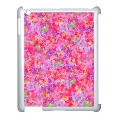 The Big Pink Party Apple Ipad 3/4 Case (white) by designworld65