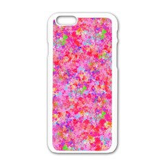 The Big Pink Party Apple Iphone 6/6s White Enamel Case by designworld65