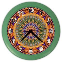 Powerful Mandala Color Wall Clocks by designworld65