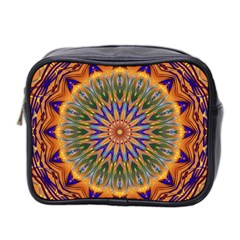 Powerful Mandala Mini Toiletries Bag 2 Side by designworld65