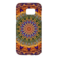 Powerful Mandala Samsung Galaxy S7 Edge Hardshell Case by designworld65