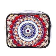 Romantic Dreams Mandala Mini Toiletries Bags by designworld65
