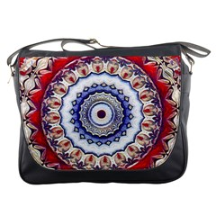 Romantic Dreams Mandala Messenger Bags by designworld65