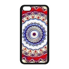 Romantic Dreams Mandala Apple Iphone 5c Seamless Case (black) by designworld65