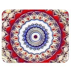 Romantic Dreams Mandala Double Sided Flano Blanket (medium)  by designworld65