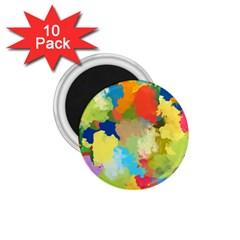 Summer Feeling Splash 1 75  Magnets (10 Pack)  by designworld65