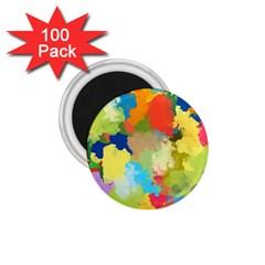 Summer Feeling Splash 1 75  Magnets (100 Pack)  by designworld65