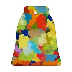 Summer Feeling Splash Bell Ornament (two Sides) by designworld65