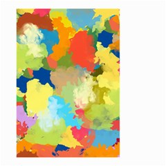 Summer Feeling Splash Small Garden Flag (two Sides) by designworld65