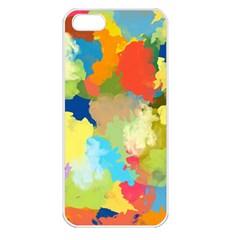 Summer Feeling Splash Apple Iphone 5 Seamless Case (white) by designworld65