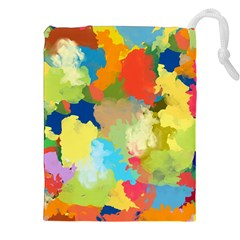 Summer Feeling Splash Drawstring Pouches (xxl) by designworld65