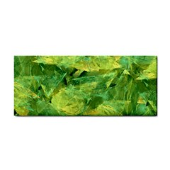 Green Springtime Leafs Cosmetic Storage Cases by designworld65