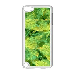 Green Springtime Leafs Apple Ipod Touch 5 Case (white) by designworld65