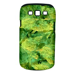 Green Springtime Leafs Samsung Galaxy S Iii Classic Hardshell Case (pc+silicone) by designworld65
