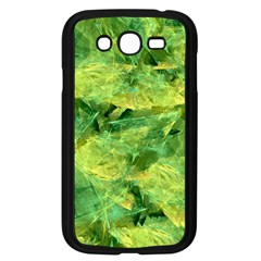 Green Springtime Leafs Samsung Galaxy Grand Duos I9082 Case (black) by designworld65