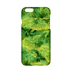 Green Springtime Leafs Apple Iphone 6/6s Hardshell Case by designworld65