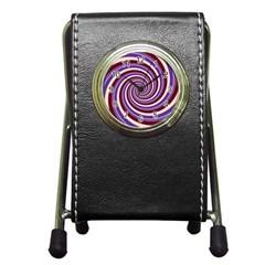 Woven Spiral Pen Holder Desk Clocks by designworld65