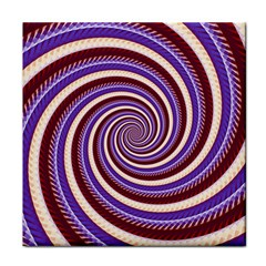 Woven Spiral Face Towel by designworld65