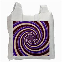 Woven Spiral Recycle Bag (one Side) by designworld65