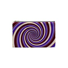 Woven Spiral Cosmetic Bag (small)  by designworld65