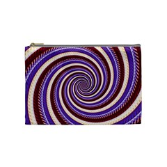 Woven Spiral Cosmetic Bag (medium)  by designworld65