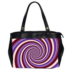 Woven Spiral Office Handbags (2 Sides)  by designworld65