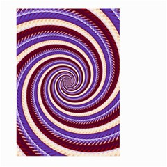 Woven Spiral Large Garden Flag (two Sides) by designworld65