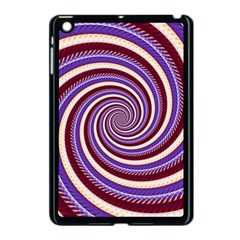Woven Spiral Apple Ipad Mini Case (black) by designworld65