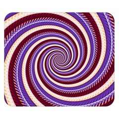 Woven Spiral Double Sided Flano Blanket (small)  by designworld65