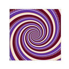 Woven Spiral Small Satin Scarf (square) by designworld65