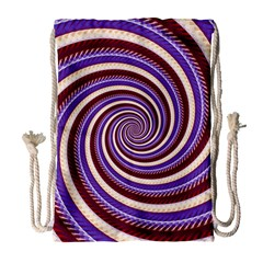 Woven Spiral Drawstring Bag (large) by designworld65