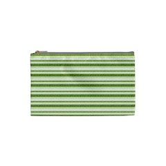 Spring Stripes Cosmetic Bag (small)  by designworld65