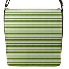 Spring Stripes Flap Messenger Bag (s) by designworld65
